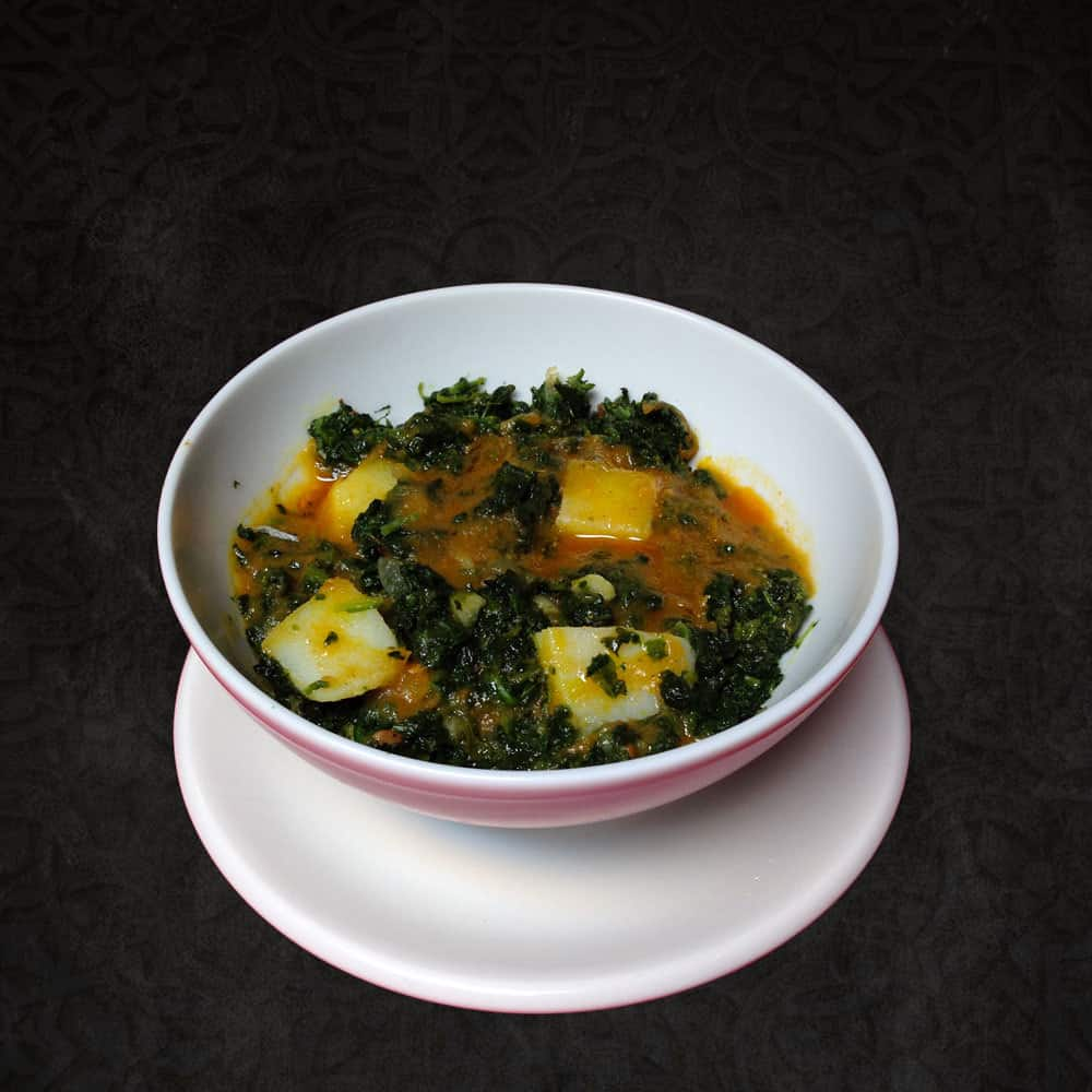 Side Dishes Palak Paneer