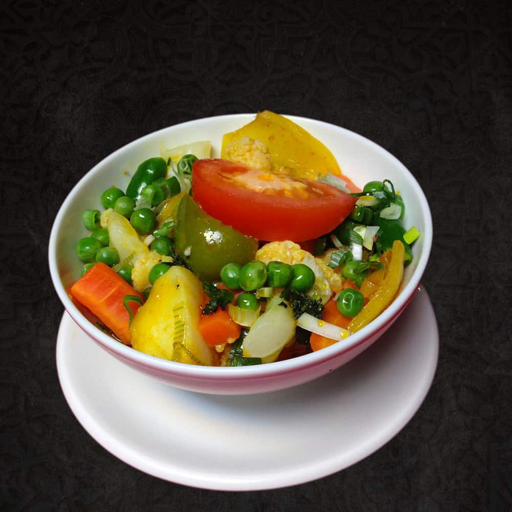 Side Dishes Vegetable Bhaji (Dry)-
