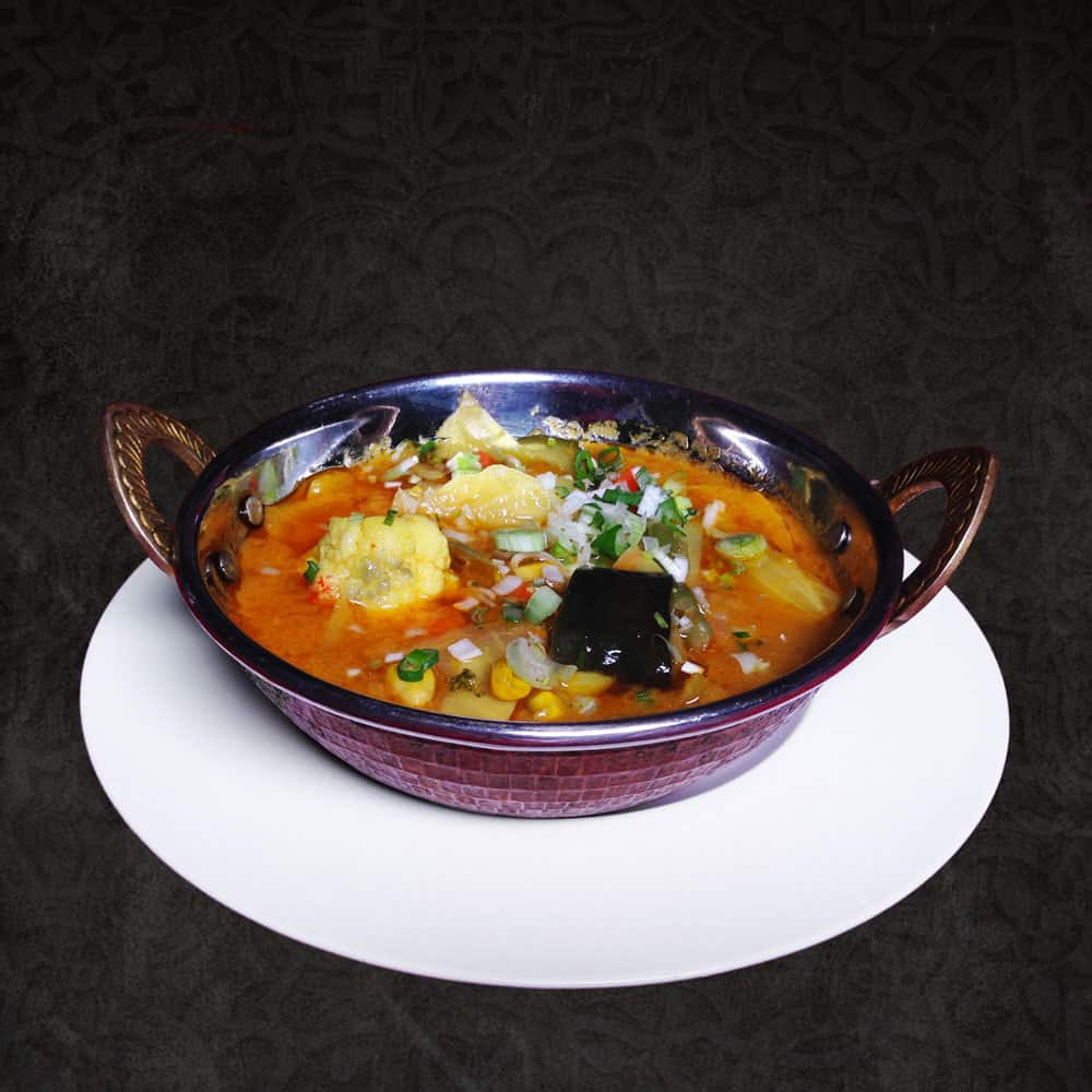 Traditionnal Dishes Vegetables Curry