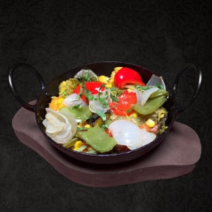 Vegetarian Main Korahi Mixed Vegetable